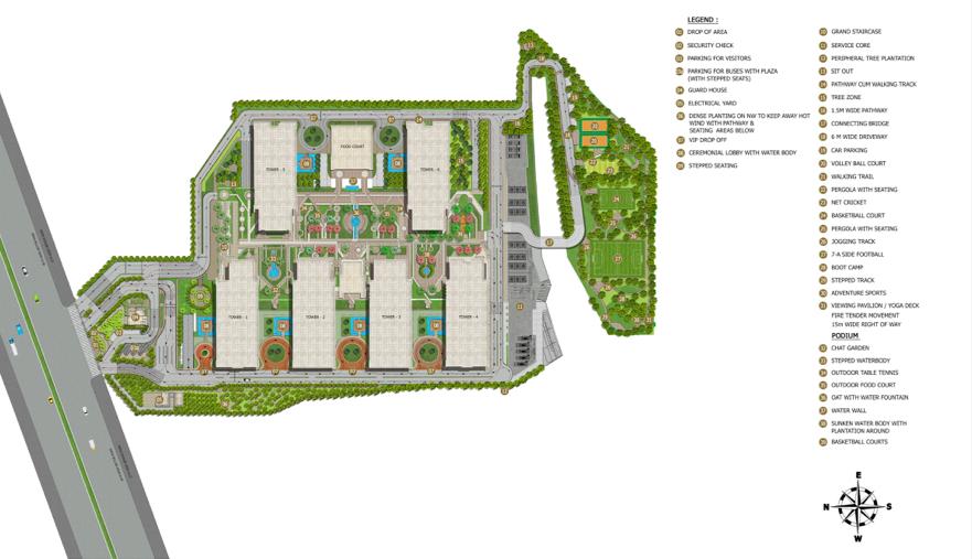 IT Park Corporate Office Floorplan